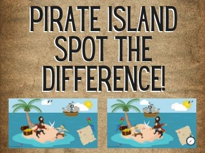 Pirates - Spot the Difference