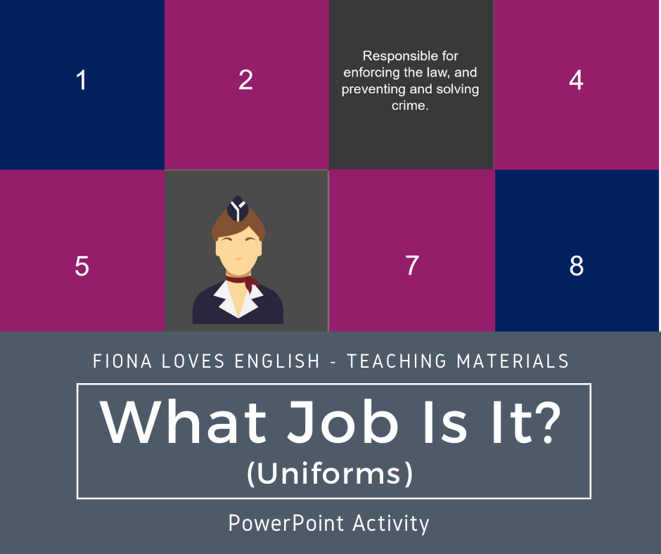What Job Is It? (Uniforms)