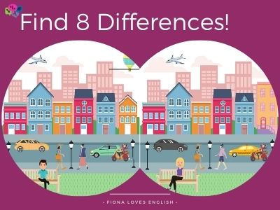 Find 8 Differences - Street
