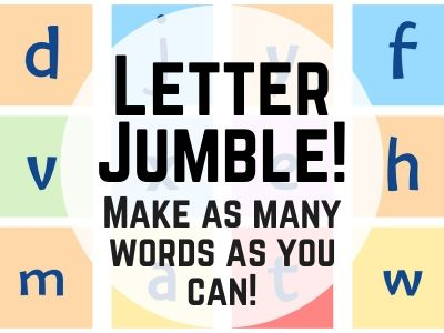 Letter Jumble: Make the words!