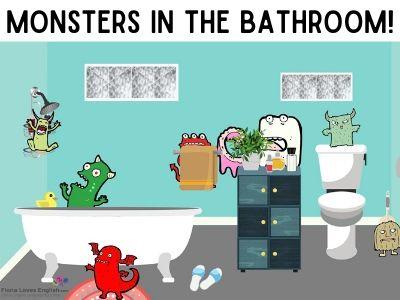Monsters in the bathroom!
