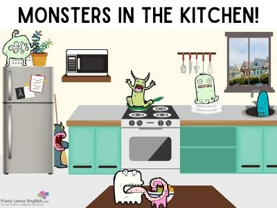 Monsters in the Kitchen!