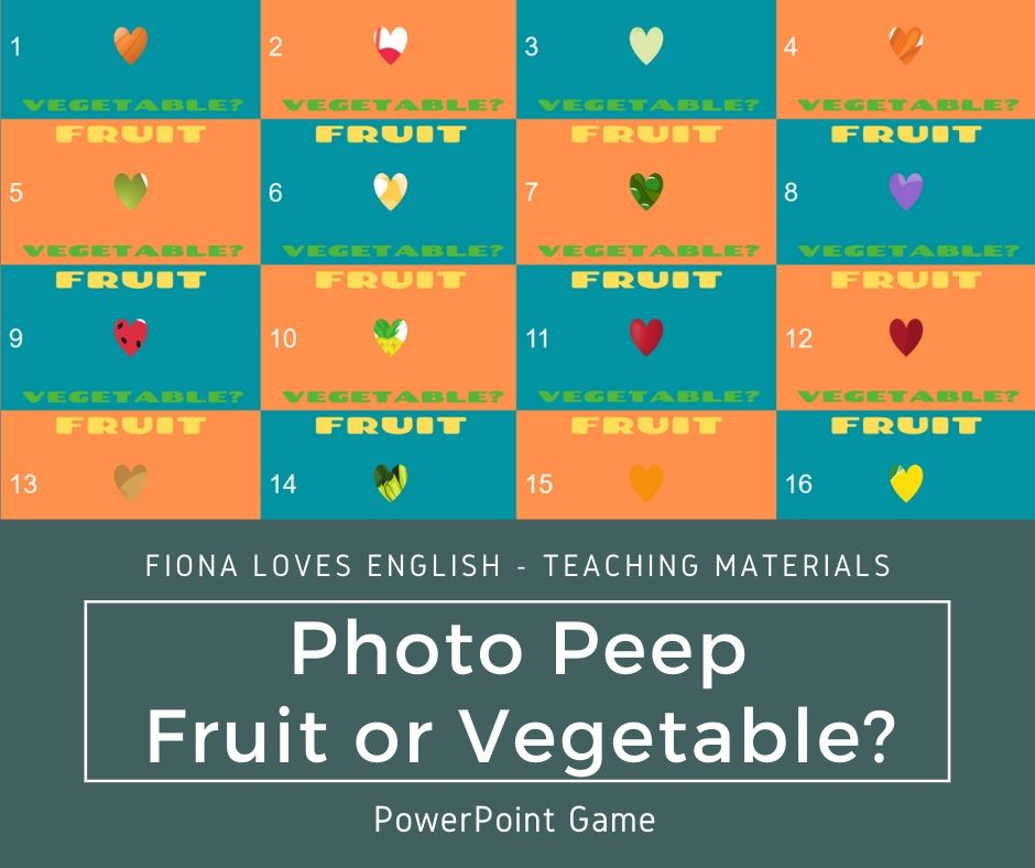 Photo Peep - Fruit or Vegetable?