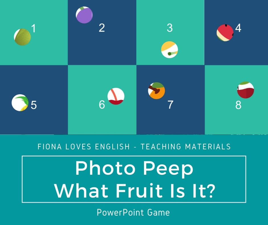 Photo Peep - What Fruit Is It?