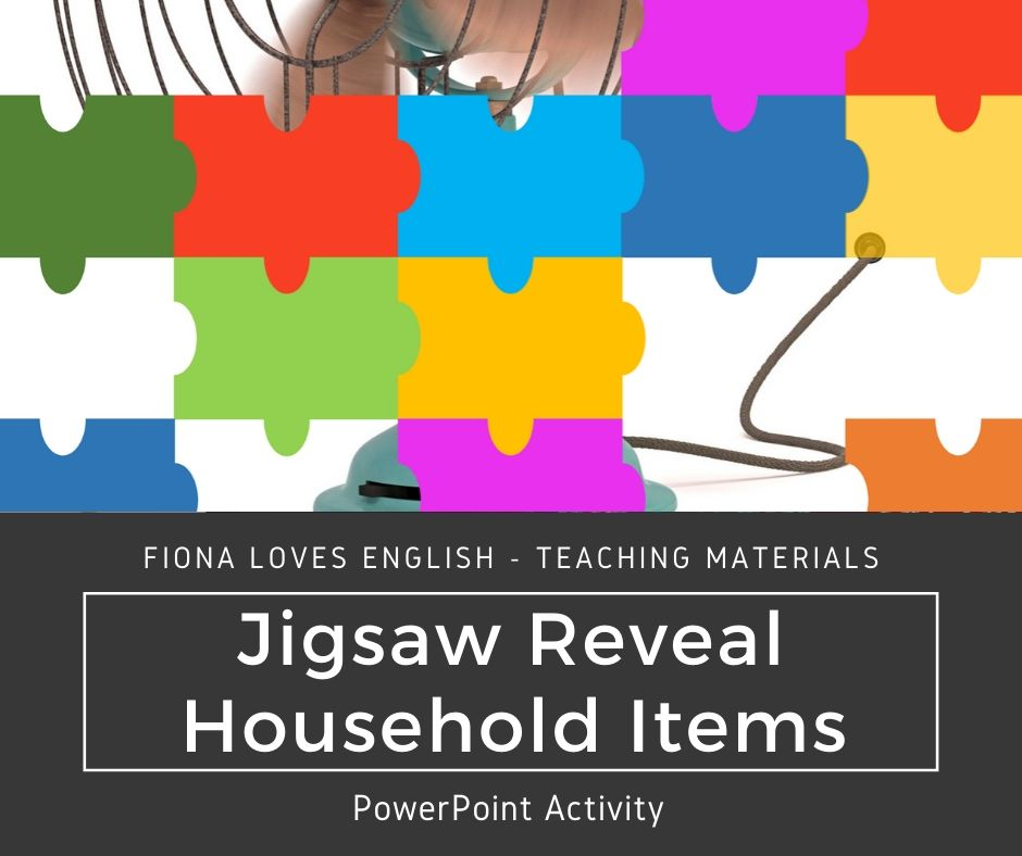 Jigsaw Reveal - Household Items