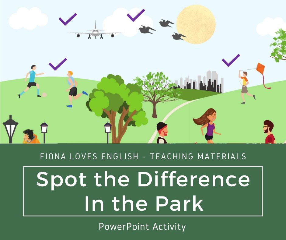 Spot the Difference - In the Park