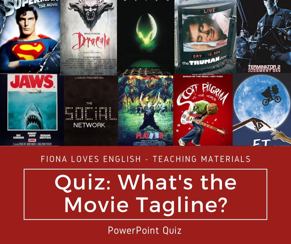 Quiz: What's the Movie Tagline?