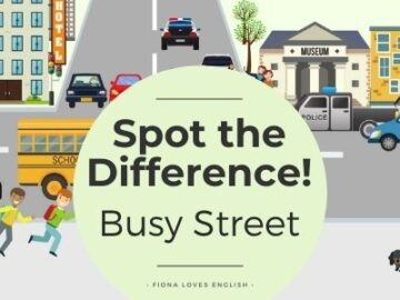 Busy Street - Spot the Difference