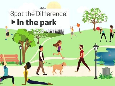 Spot the Difference: In the Park!