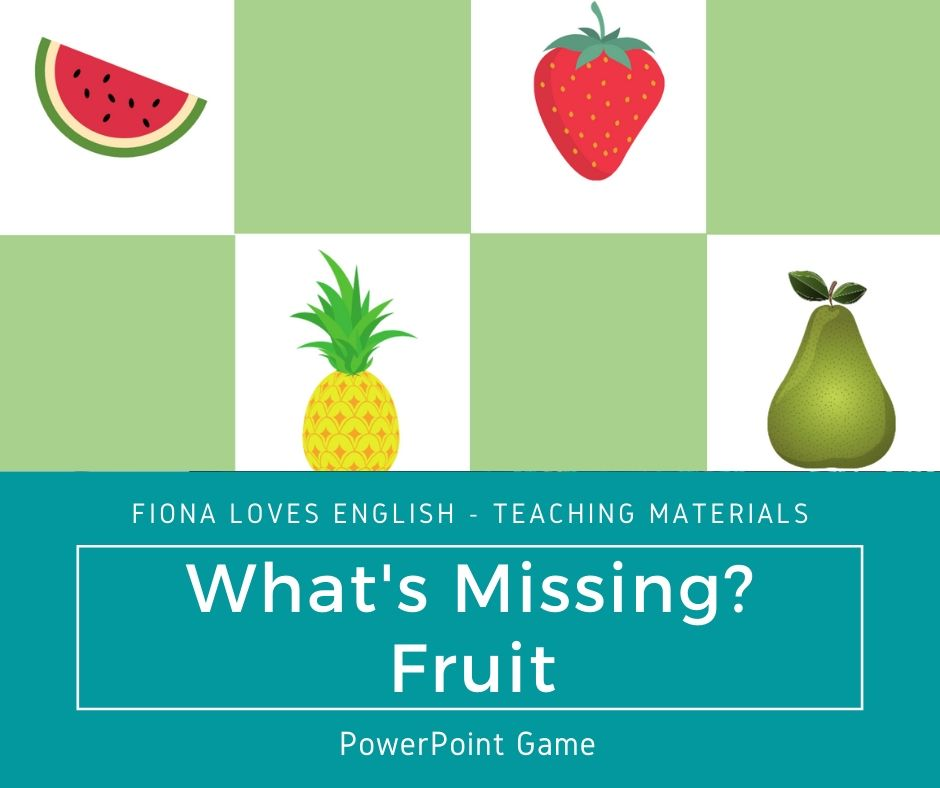 What's Missing? - Fruit